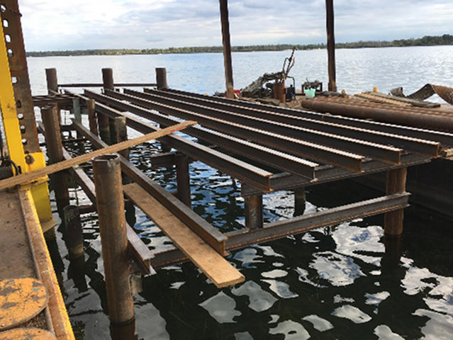 Image of steel structure